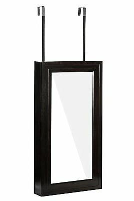 abby jewelry armoire cheval mirror in modern