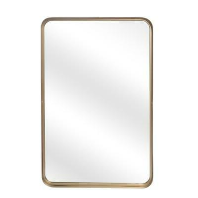 Antique Mirror Rectangle Frame Mirror for Vanity