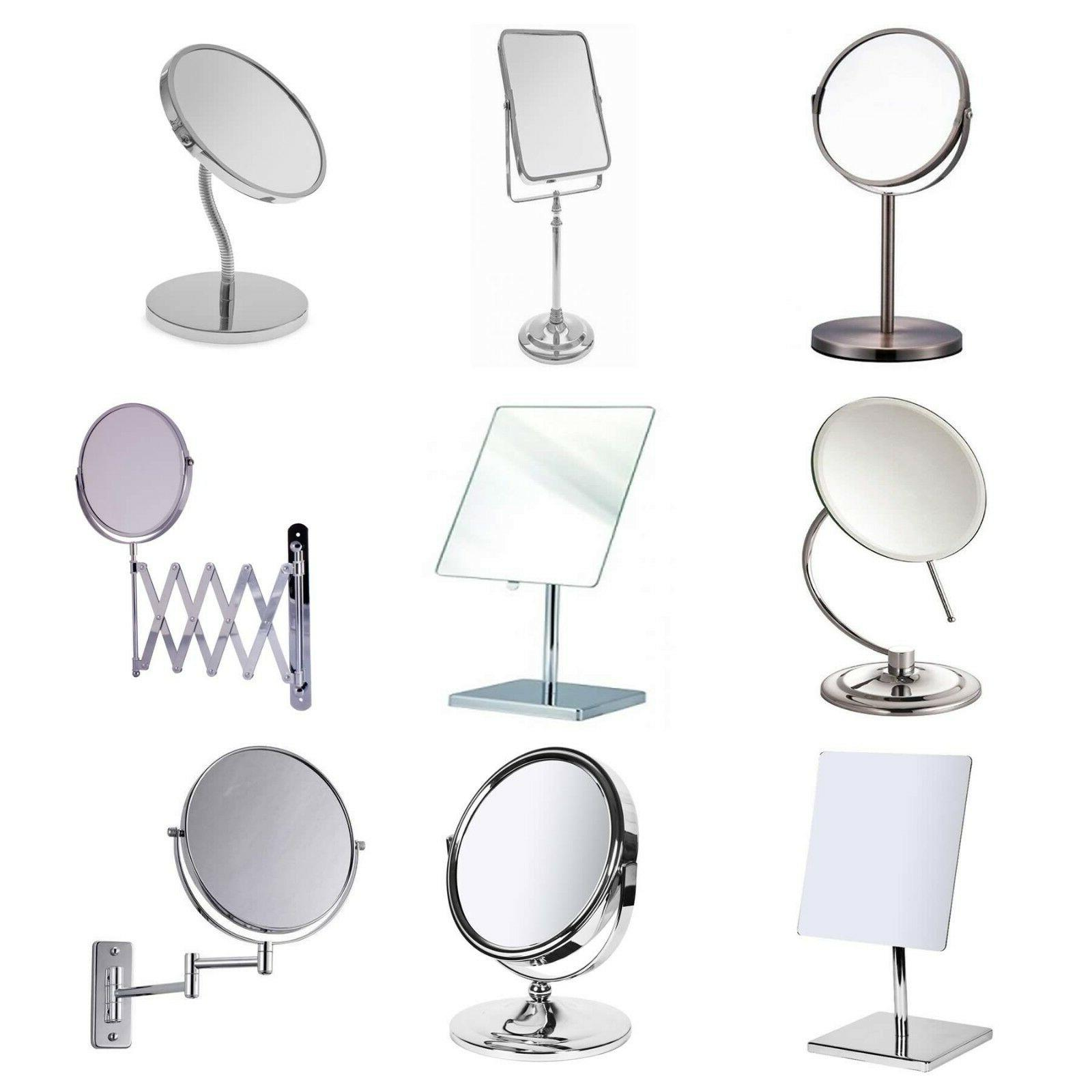 bathroom mirror various make up swivel flexible