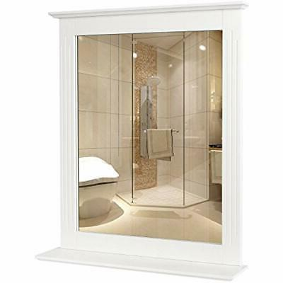 HOMFA Wall Vanity Mirror Framed Mirror with for Multipurpose