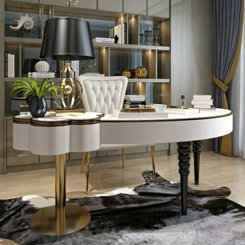 Vanity with Top Mirror Table