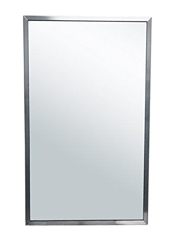 brey krause commercial restroom mirror inches wide tall