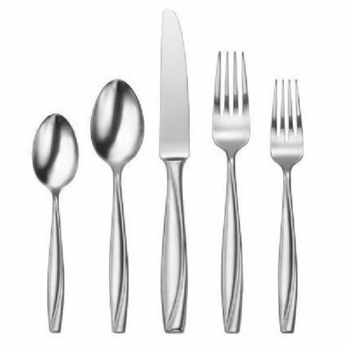 Oneida Camlynn Mirror 20 Piece Casual Flatware Set, Service