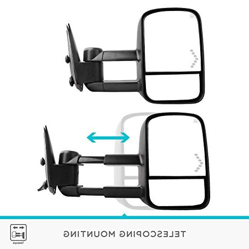 YITAMOTOR Mirrors, Chevrolet Side Mirror, Mirrors, Pair Light