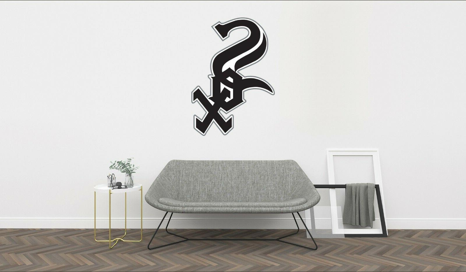 chicago white sox logo wall decal