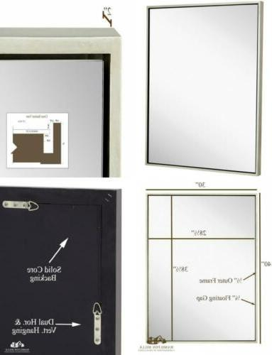 clean modern black frame wall