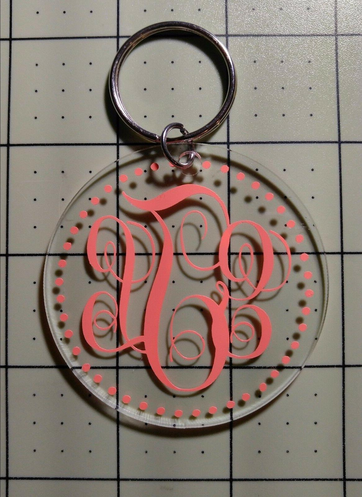 ~*~ KEYCHAIN Your Decal etc