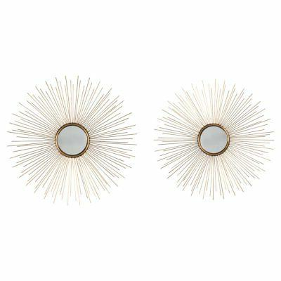 doniel accent wall mirror set of 2