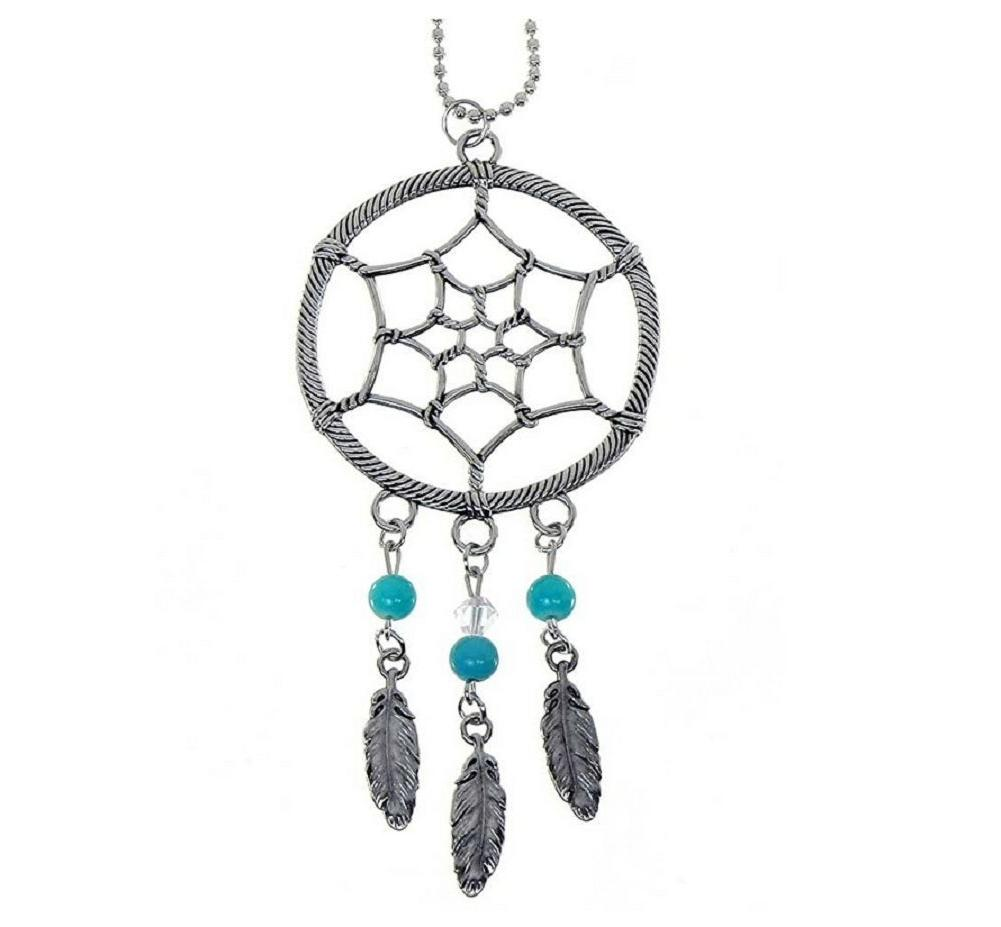 DREAMCATCHER Ganz Car Charm with Dangle Charms & Ball Chain