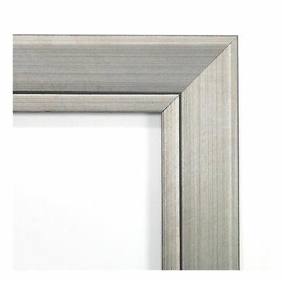 """Amanti Art 24"""" x Square Beveled Wood Framed Accent Mirror"""