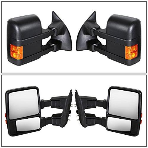 For F-Series Duty Powered + Heated Glass + Signal Extenable Towing