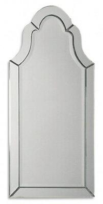 Uttermost 'Hovan' Frameless Arch Mirror, Size One Size - Whi