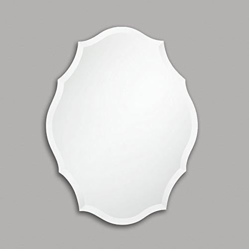 Frameless Mirror Bedroom, Mirror Oval with