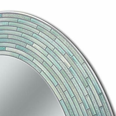 """Headwest Reeded Sea Oval inches 29"""" 23"""""""
