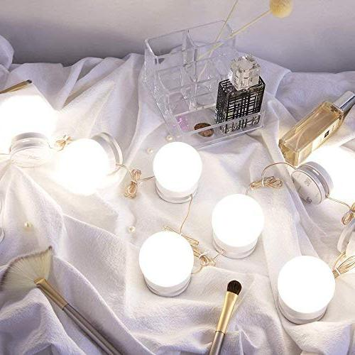 Chende Style Vanity Lights with Dimmable Light Bulbs, Lighting Makeup Vanity in Dressing Room