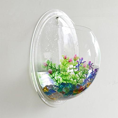 Kathson Home Pot Wall Hanging Aquarium Fish Aquarium