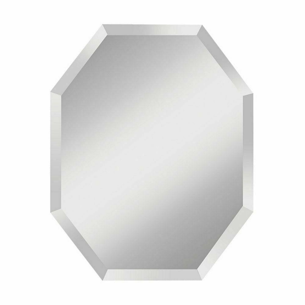 infinity octagon mirror 24w x 30h in