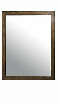 ACME Furniture Landon Mirror, Salvage Brown