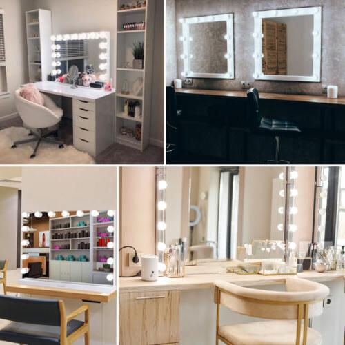 Large Hollywood Makeup Dimmable Vanity