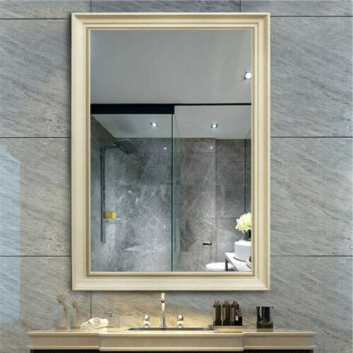Large Wall Hanging Mirror Frame Wall Bathroom Vanity