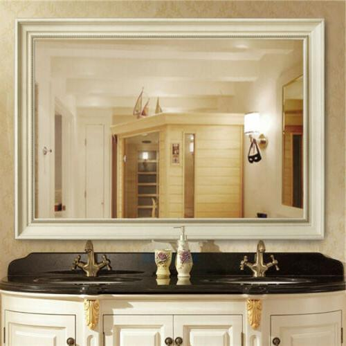 large wall hanging mirror frame wall mount