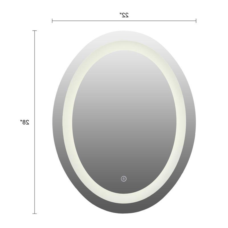 LED Wall Mirror W/Touch