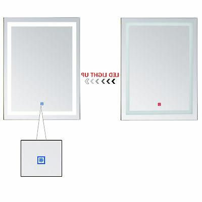 LED Bathroom Mirrors with Lights Modern Makeup Mirror