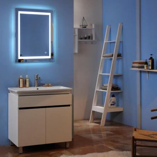 LED Illuminated Bathroom Vanity Mirrors with Bulb