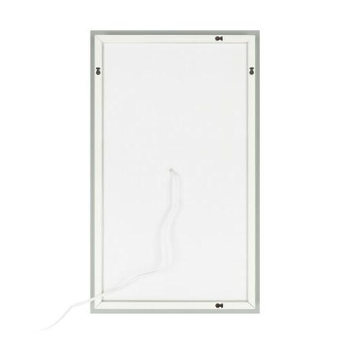 LED Illuminated Bathroom Vanity Mirrors with Bulb Mount