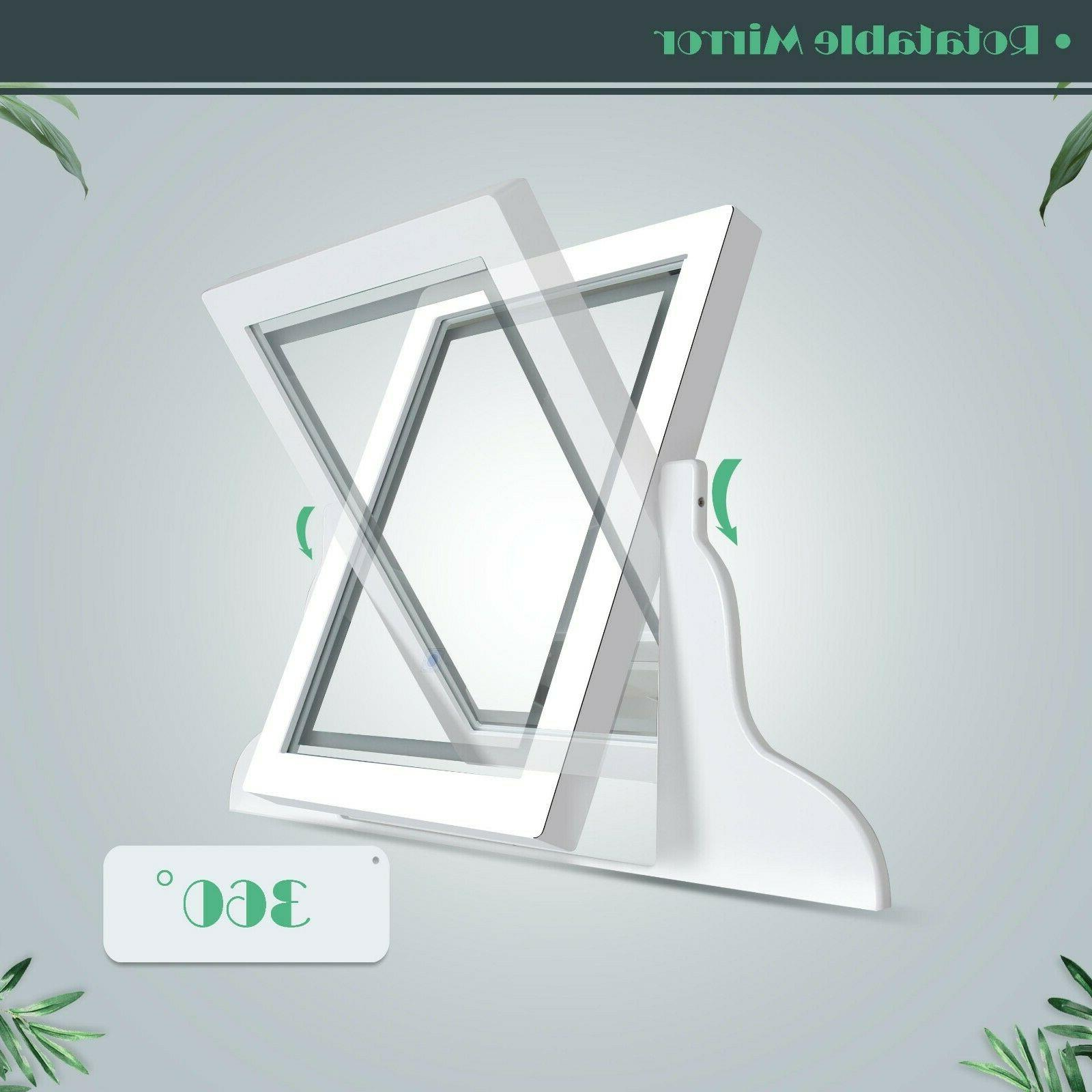 LED set with Lighted Mirror