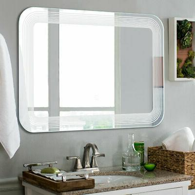 LED Wall-Mount Vanity W/Touch Button