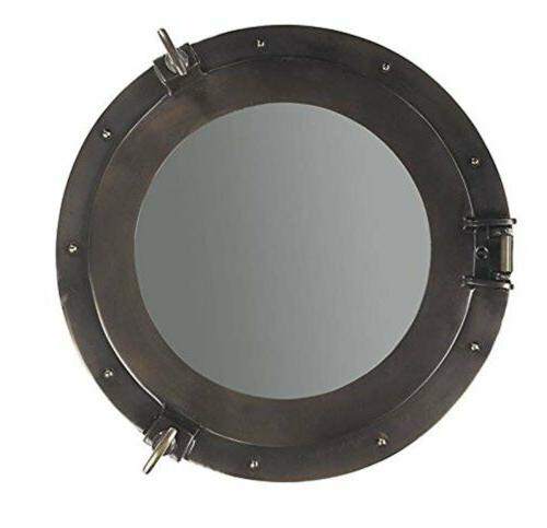 Lounge Porthole Mirror Decorative Accent, Large