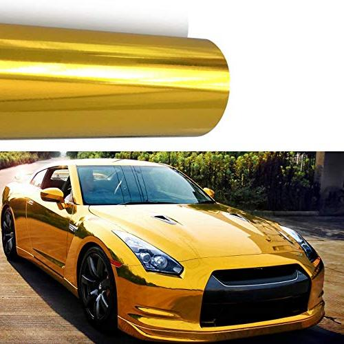 m j autoparts chrome mirror vinyl film
