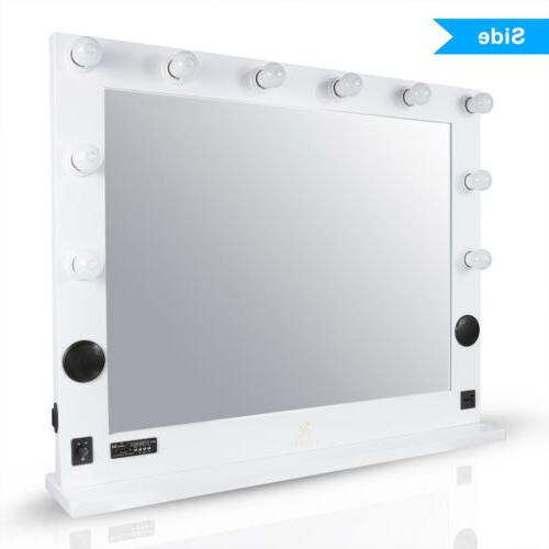 Modern Makeup Mirrors With Lights Speakers