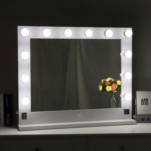 Modern Style Vanity Makeup Mirrors With LED Lights Speakers
