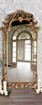 "NEW FRENCH VICTORIAN ORNATE Scroll ARCH Oversize 85"" Bronze"