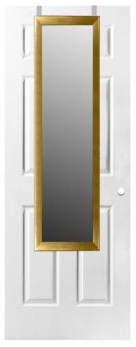 Home Basics NEW Over the Door Full Length Rectangle Mirror -