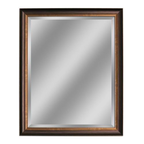 oil rubbed bronze mirror 26 by 32