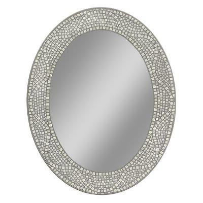 oval mirror bedroom bathroom vanity opal tile
