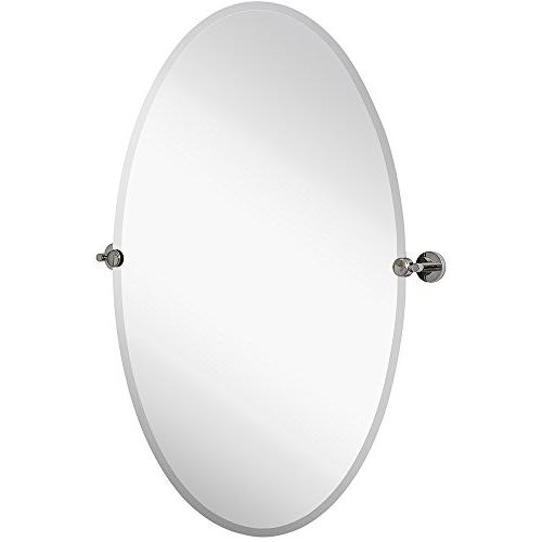 pivot oval mirror