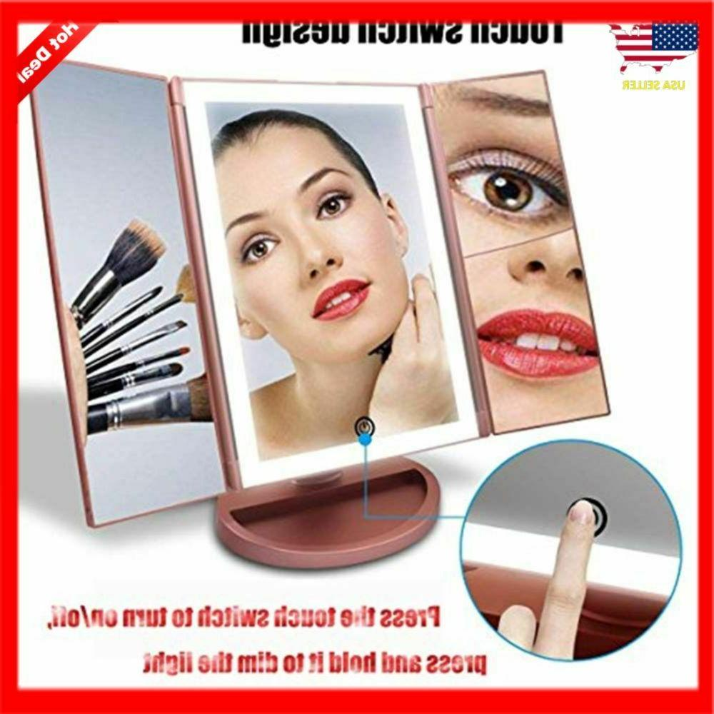 Portable Vanity Mirror Professional Magnifying 3X