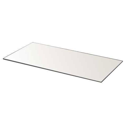 Rectangle - 3 Rectangle Panels 5 inch x inch with mm Thick Beveled - Use as Centerpieces, Plates, Décor