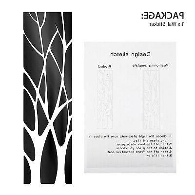 Removable Modern Mirror Decal Stickers