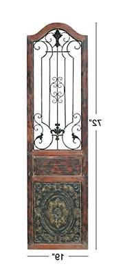 """Deco Arched Door-Inspired Wall Decor, 72"""" H x L,"""