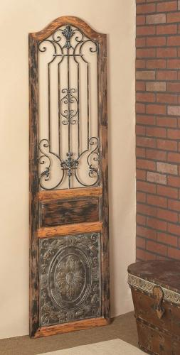 Deco 79 Arched Door-Inspired Wood and Wall Decor, H