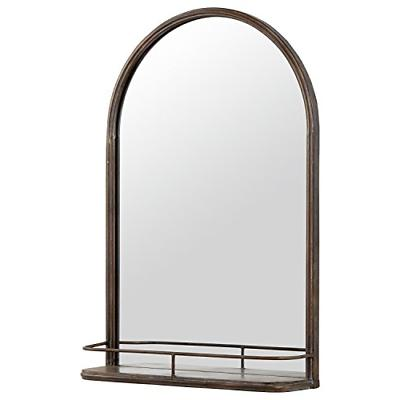 "Stone & Arc Mirror Shelf, 30""H,"