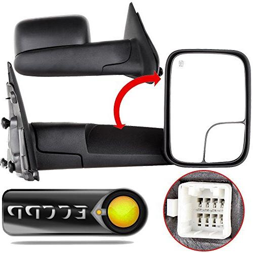 towing mirrors fit 02 08 dodge ram