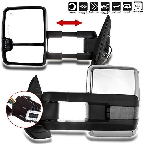 towing mirrors fit chevrolet gmc automotive exterior