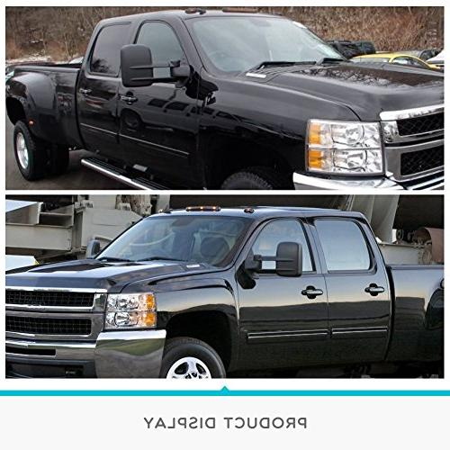 Towing for Chevrolet/GMC/Cadillac Silverado/Sierra Power with Arrow Light Side Mirrors