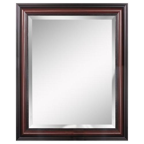 traditional cherry wall mirror